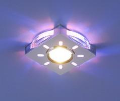 Светильник 1051 хромсиняя подсветка