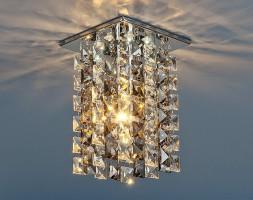 Светильник 207 LED хромдымчатыйпрозрачный