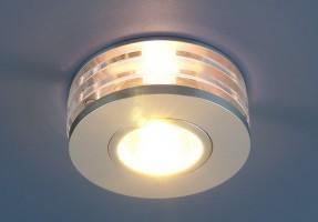Светильник 5005 MR 16 хром (WH)