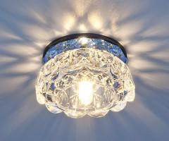 Светильник 6240 G9 зеркальныйсиний