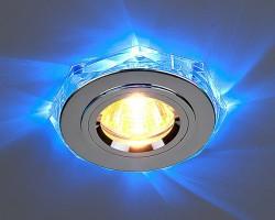 Светильник HS-20202 хромсиняя подсветка (SL-LEDBL) SC