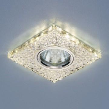 светильник со светодиодной подсветкой 2150 MR16 SL зеркальныйсеребро