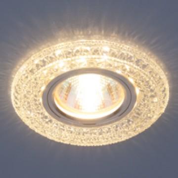 светильник со светодиодной подсветкой 2160 MR16 CL прозрачный