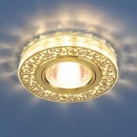светодиодный светильник 6034 MR16 GDCL золотопрозрачный 50Вт