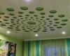 Галерея резных натяжных потолков