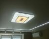 Натяжной потолок для спальни